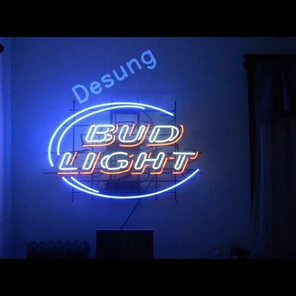 "Desung Bud Light Neon Sign alcohol 118BR117BLN 1630 18"" beer bar"