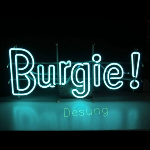 "Desung Burgie Burgermeister Brewing Neon Sign business 120BR191BBB 1704 20"" bar"