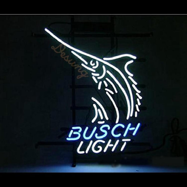 "Desung Busch Light Neon Sign alcohol 118BR208BLN 1721 18"" beer bar"