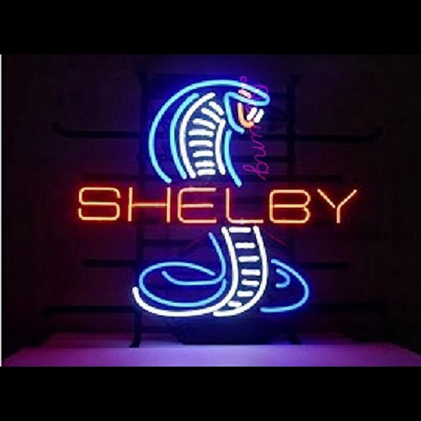 Desung Carroll Shelby Cobra AC Cobra Neon Sign auto 118AM226SCN 1739 18""