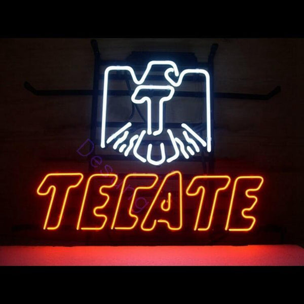 "Desung Cerveza Tecate Neon Sign alcohol 118BR027CT 1540 18"" beer bar"
