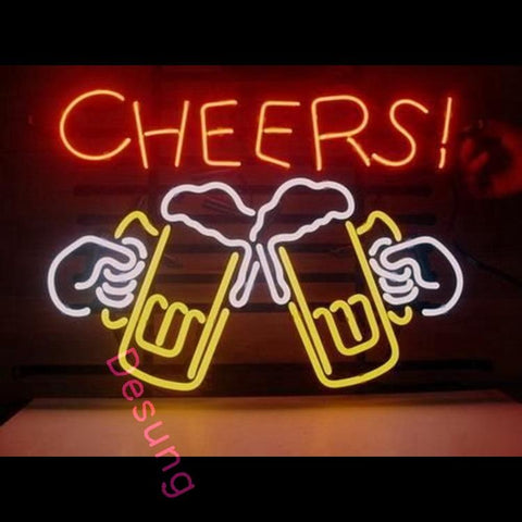 "Desung Cheers Neon Sign business 118BP154CNS 1667 18"" bar"