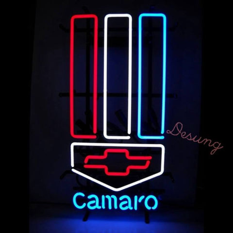 Desung Chevy Camaro Neon Sign auto 120AM187CCN 1700 20""