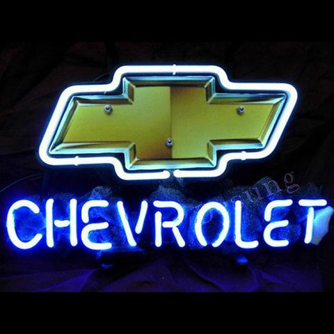 Desung Chevy Chervolet Neon Sign auto 118AM139CCN 1652 18""