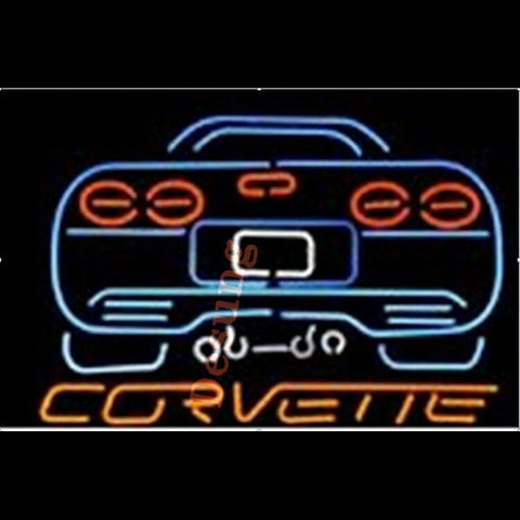 Desung Corvette Chevrolet Neon Sign auto 120AM180CCN 1693 20""