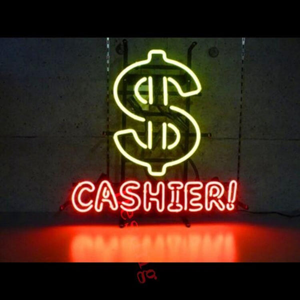Desung Dollar Cashier Neon Sign business 120BS368DCN 1881 20""
