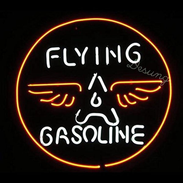 "Desung Flying Gasoline Neon Sign business 118BS171FGN 1684 18"" gas"
