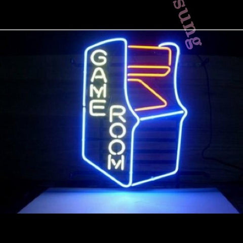 "Desung Game Room Neon Sign business 117MC497GR 2010 17"" arcade"