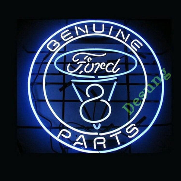 Desung Genuine Ford Parts Neon Sign auto 118AM170GFP 1683 18""