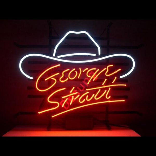 Desung George Strait Neon Sign personal 118BS044GSN 1557 18""