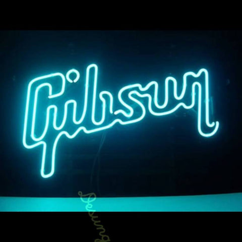 Desung Gibson Guitar Music Neon Sign personal 120BS244GGM 1757 20""