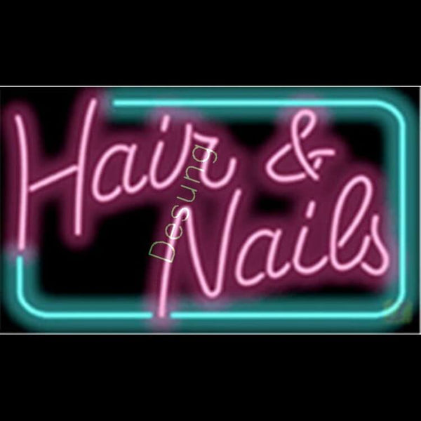 Desung Hair and Nails Neon Sign business 118BS131HNN 1644 18""