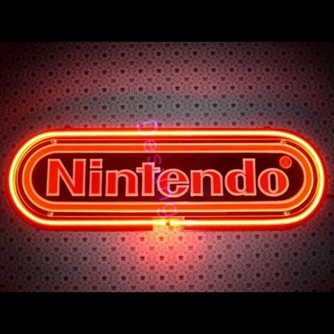 "Desung Nintendo Neon Sign business 118BS138NNS 1651 18"" arcade"