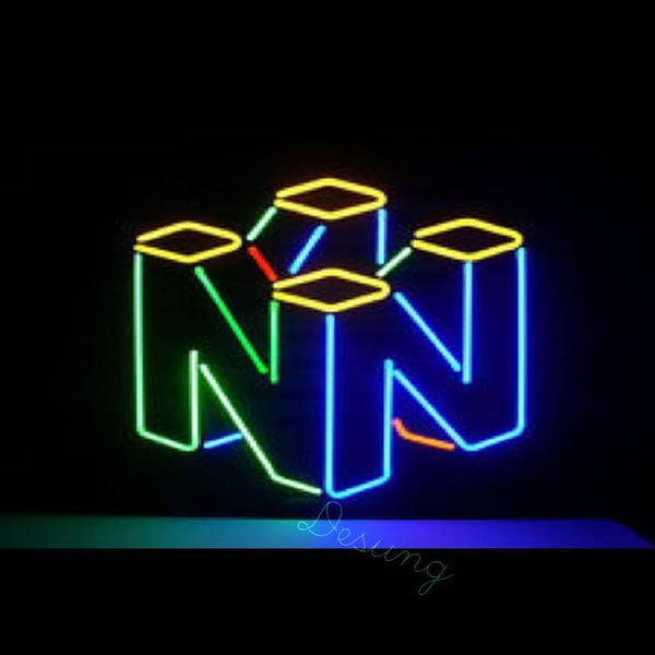 "Desung Nintendo Neon Sign Neon Sign business 117BS518NNS 2031 17"" arcade"