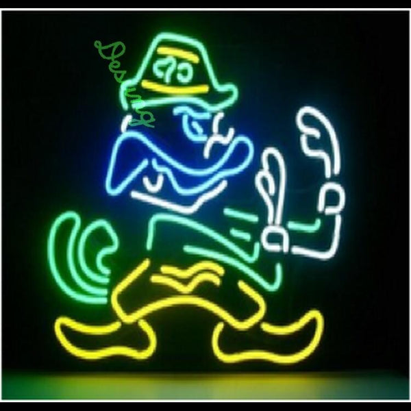 "Desung Notre Dame Fighting Irish Neon Sign sports 117WS555FI 2068 17"" football"