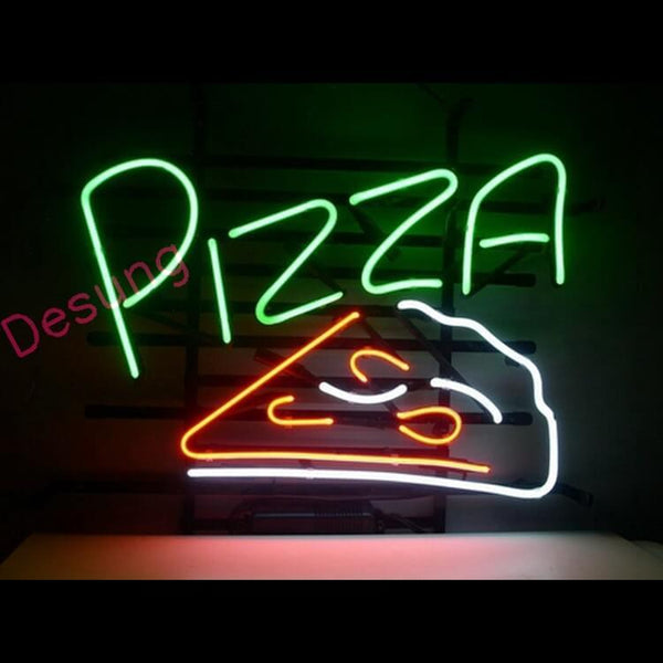 "Desung Pizza Neon Sign business 118BS075PNS 1588 18"" restaurant"