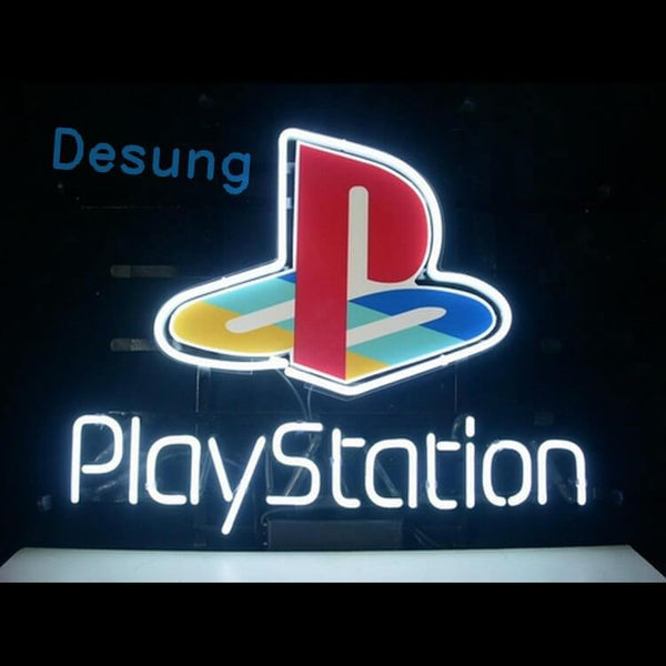 "Desung Playstation Neon Sign business 118BS099PNS 1612 18"" arcade"