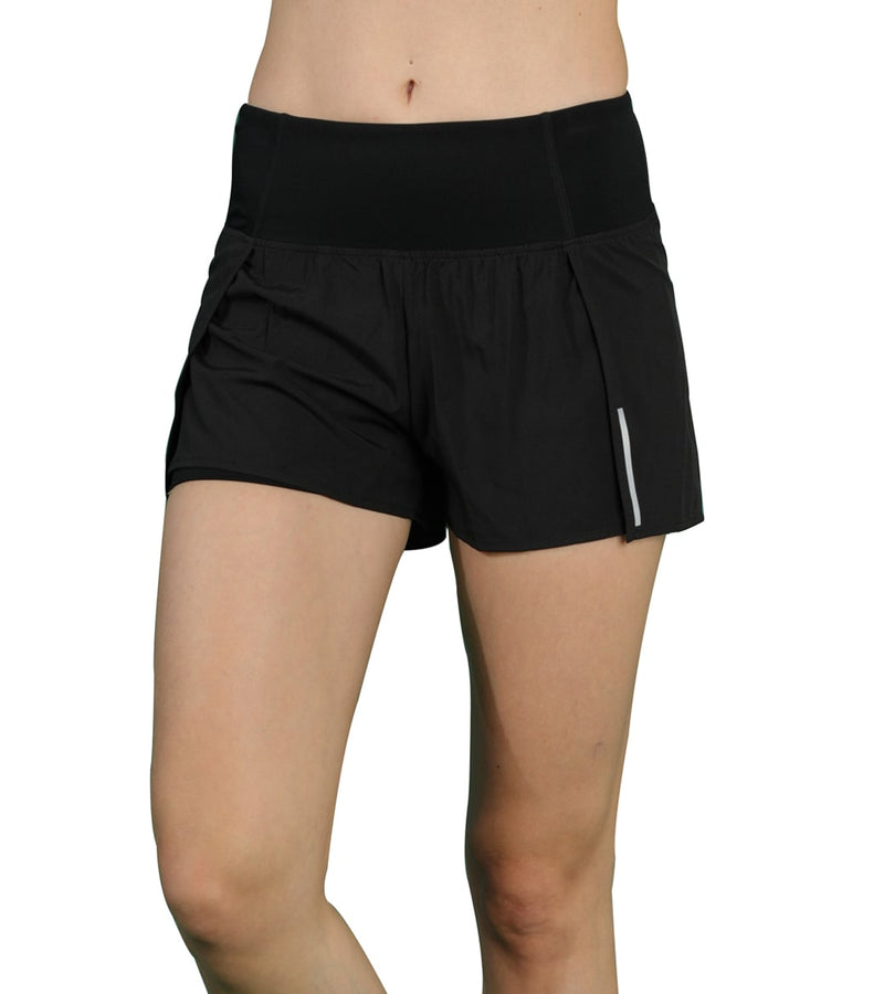LOVESOFT Women's Quick-Dry Workout Running Yoga Shorts