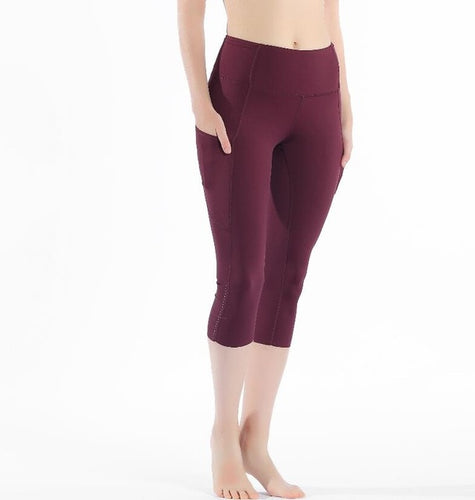 Stretch Fabric with Packet Capris