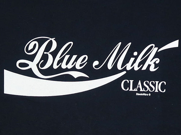Steele Wars - Blue Milk Classic - Navy T-shirt