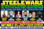 Steele Wars - Live at Geeky Teas Burbank 6pm Sat 12th January - Ticket
