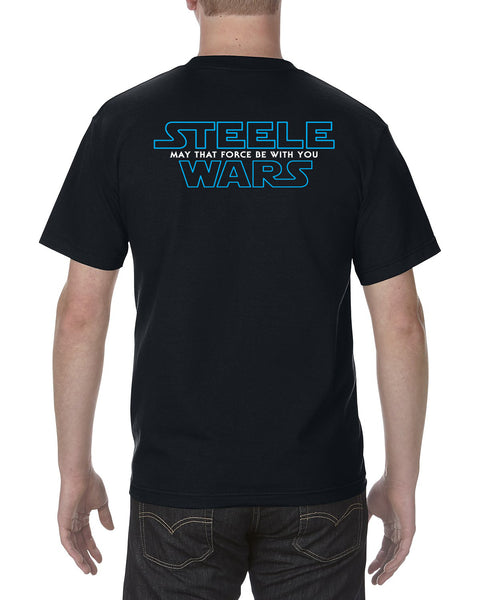 Steele Wars - That Force -  Black T-shirt - PREORDER FOR 10% OFF