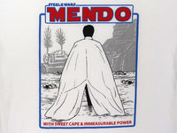 Steele Wars - MENDO - White T-shirt