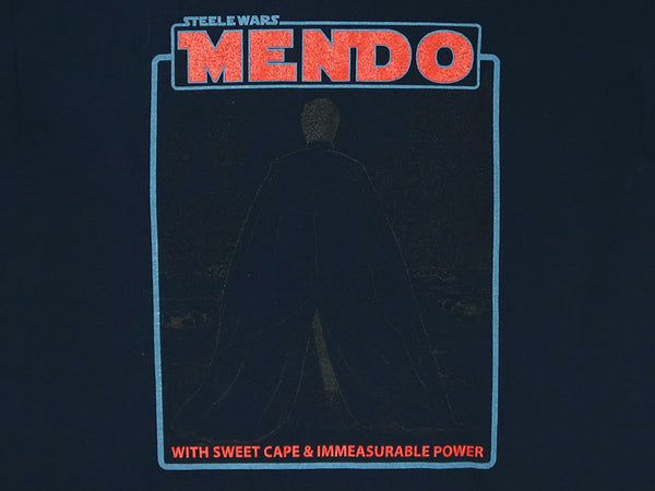 Steele Wars - MENDO - Navy T-shirt