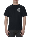 Steele Wars - Social Club -  Black T-shirt - PREORDER FOR 10% OFF