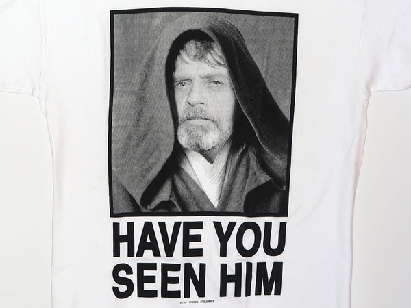 Steele Wars - Have You Seen Him? - White T-shirt