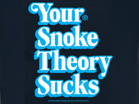 Steele Wars - Your Snoke Theory Sucks - Navy T-shirt