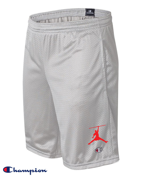 Steele Wars / Champion  - Chicago Sports Reference - Grey Mesh Shorts with Pockets