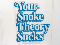 Steele Wars - Your Snoke Theory Sucks - White T-shirt