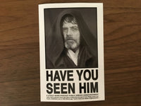 Steele Wars - Have You Seen Him? Sticker 5 Pack