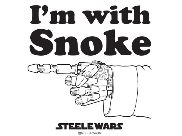 Steele Wars - I'm With Snoke Sticker 5 Pack