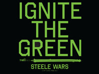 Steele Wars - Ignite The Green Sticker 5 Pack