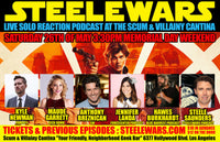 Steele Wars - Live at the Scum and Villainy Cantina 26th May - Ticket