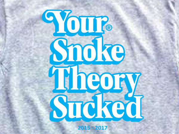 Steele Wars - Your Snoke Theory Sucked - Athletic Grey T-shirt