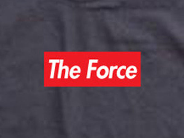 Steele Wars - The Force - Black T-shirt