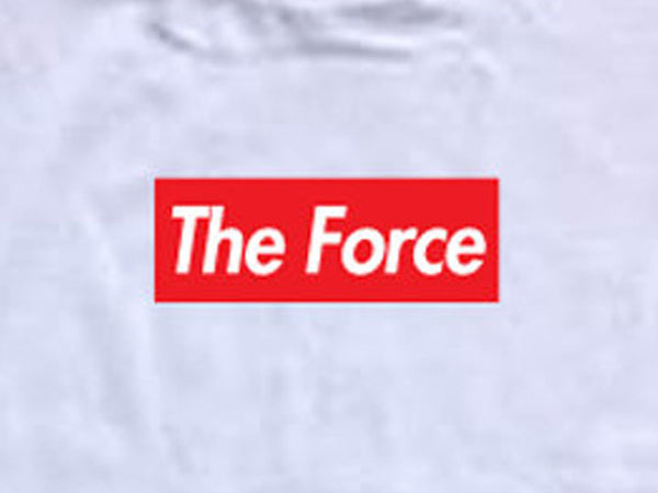 Steele Wars - The Force - White T-shirt