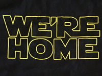 Steele Wars - We're Home - Black Long Sleeve T-shirt