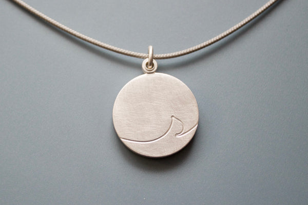 unique monogram locket for one photo in sterling silver