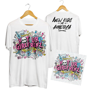 Autographed CD + Exclusive New Kids In America T-shirt