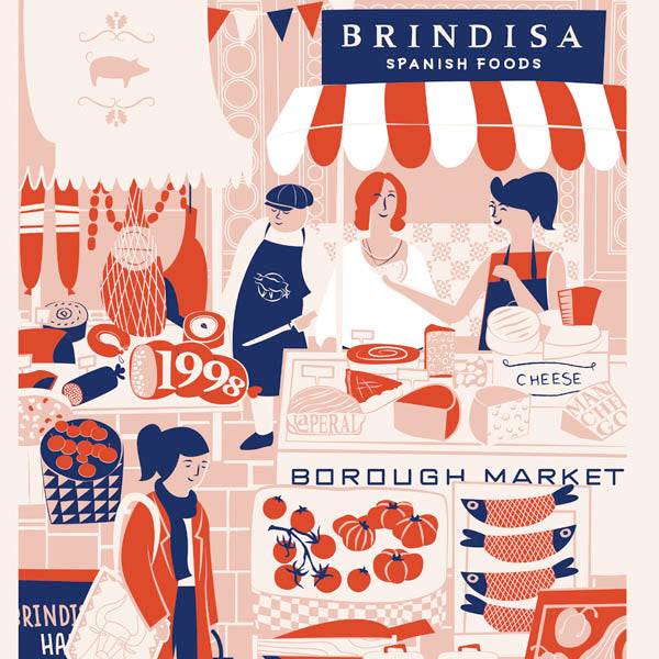 Brindisa Borough Market