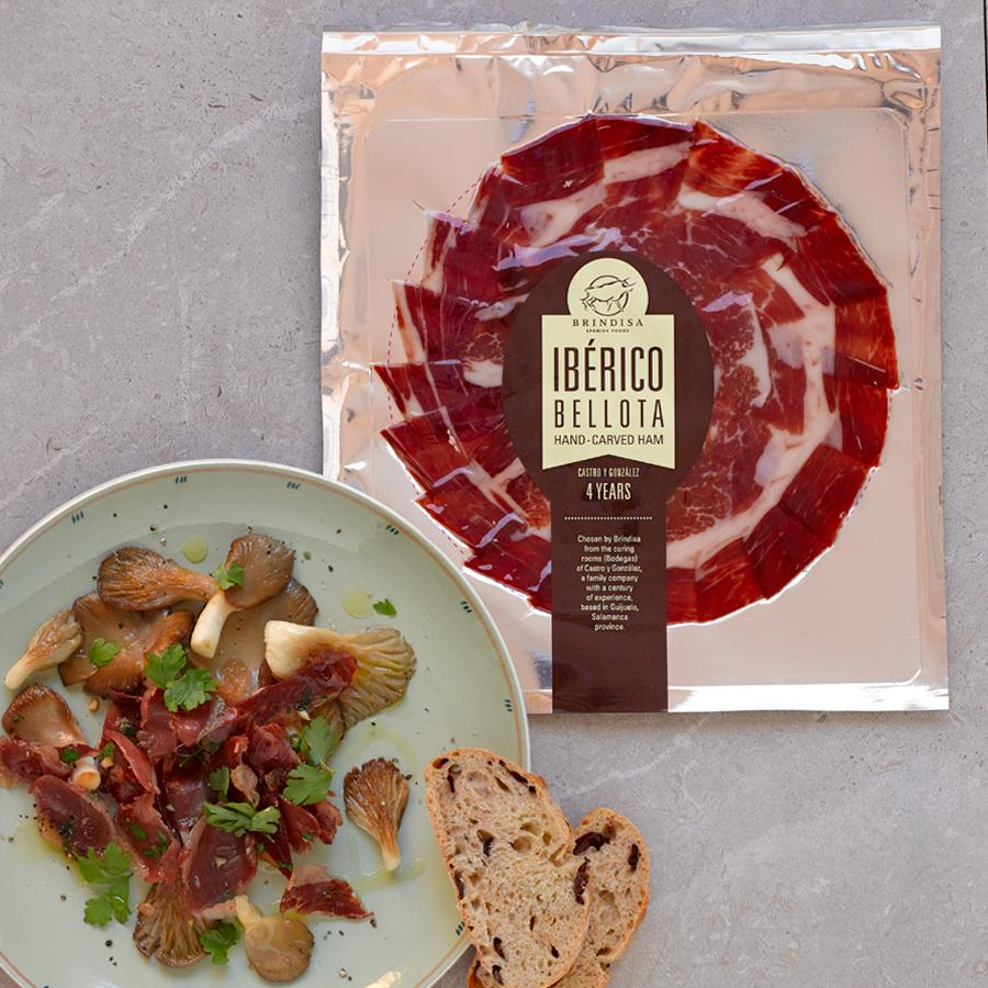 Brindisa Bellota 75% Iberico Hand-carved Ham Slices