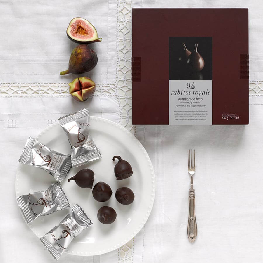 Rabitos Royale Chocolate Covered Figs: £11.75