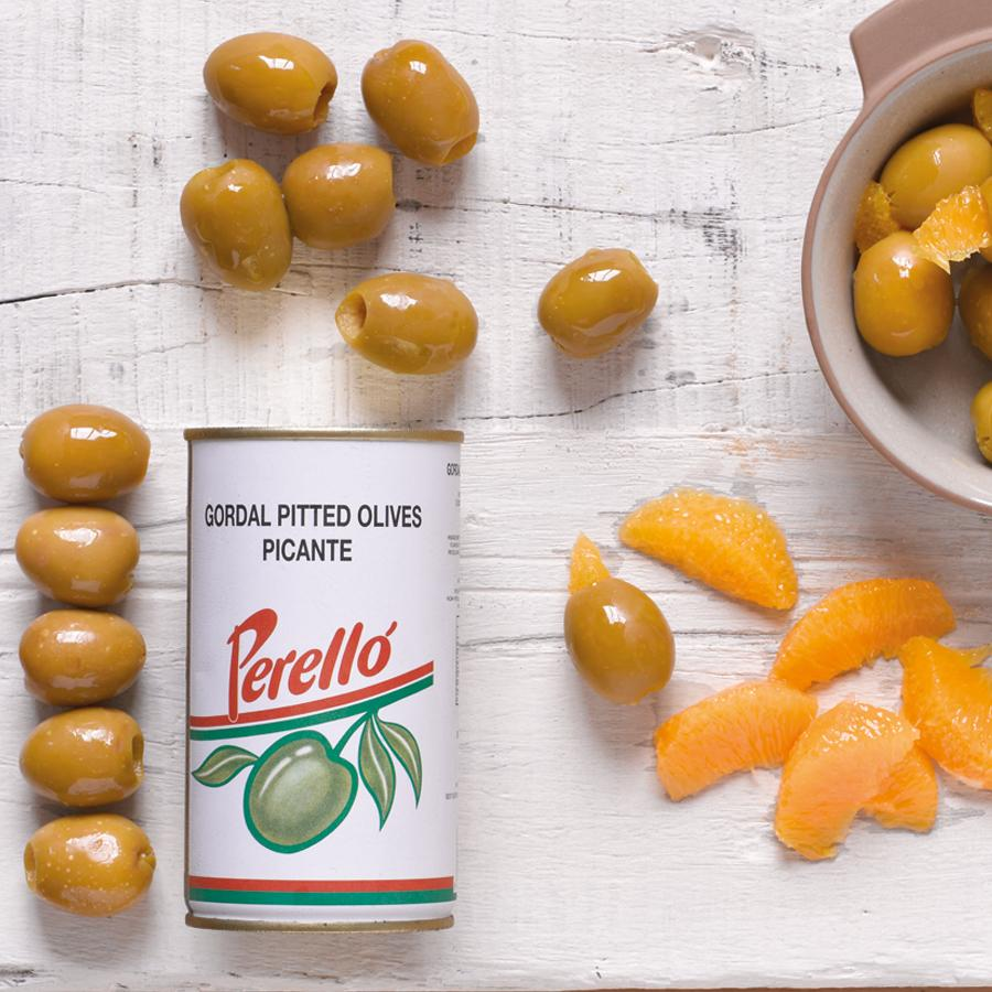 Pitted Gordal olives : £2.95