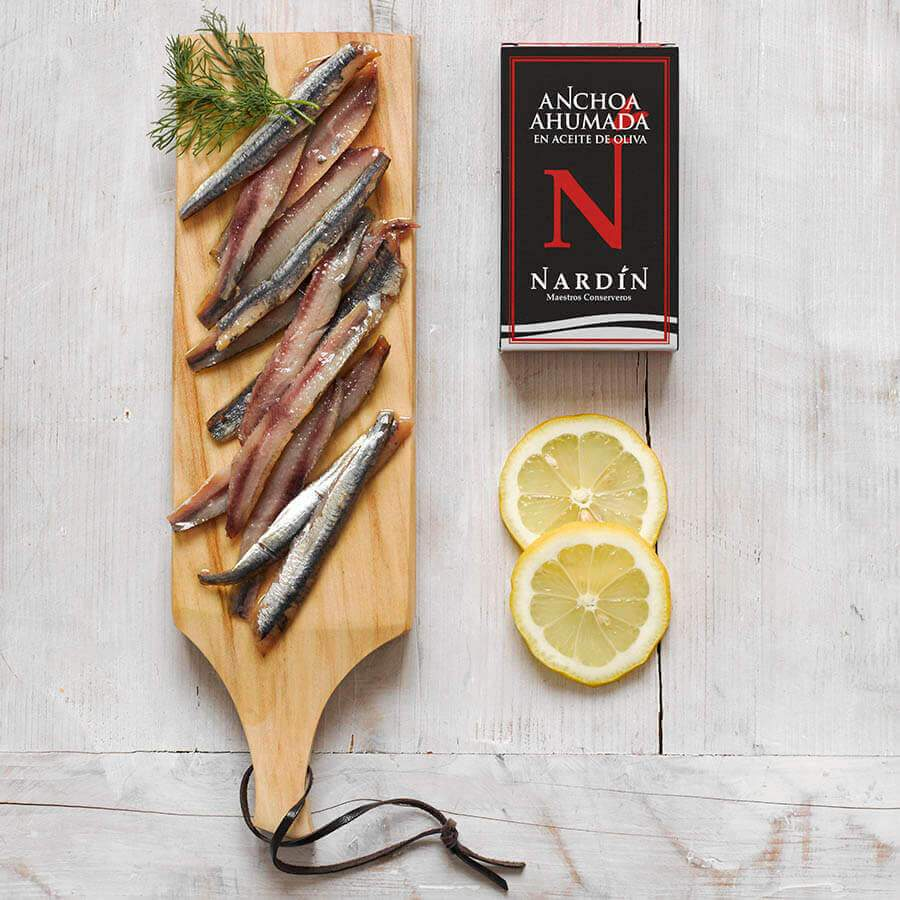 Beech Smoked Anchovies