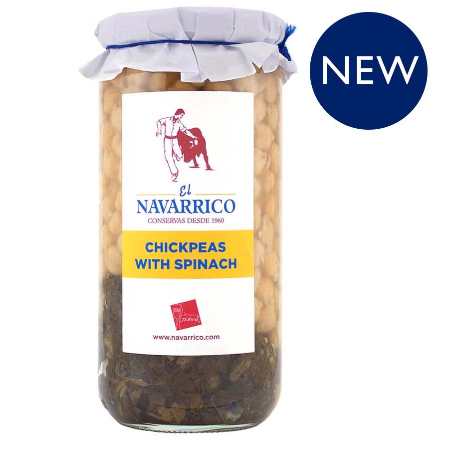 Navarrico Chickpeas with Spinach: £3.75