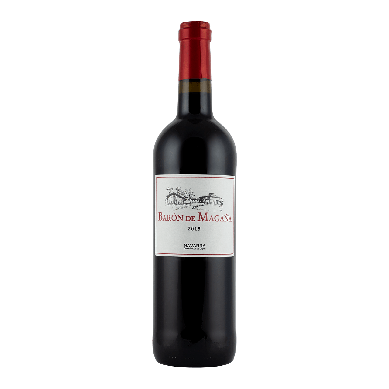Estate-bottled full-bodied red wine
